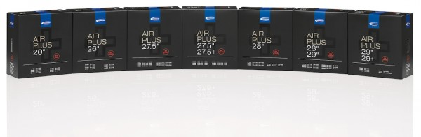 SCHWALBE Fahrradschlauch SV Ventil Air Plus 20 Zoll | ETRTO: 40/62-406 | SV | Ventillänge: 40 mm