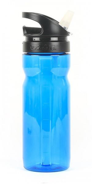 ZÉFAL Trinkflasche Trekking 700 Inhalt: 700 ml   blau transparent