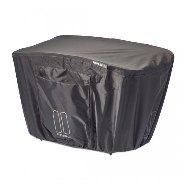 BASIL Regenschutzhaube Keep Dry grau   Größe: L