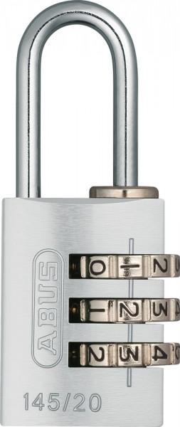 ABUS Fahrradschloss Zahlenschloss 145/20 Color Metal B/DFNLI