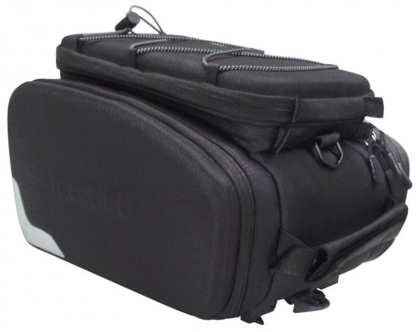 RACKTIME Gepäckträgertasche ODIN trunk bag Befestigung: Snapit | schwarz