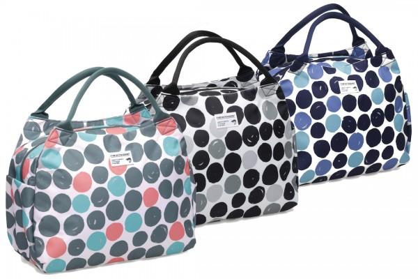 NEW LOOXS Handtasche Tosca Dots Befestigung: Haken   Multi