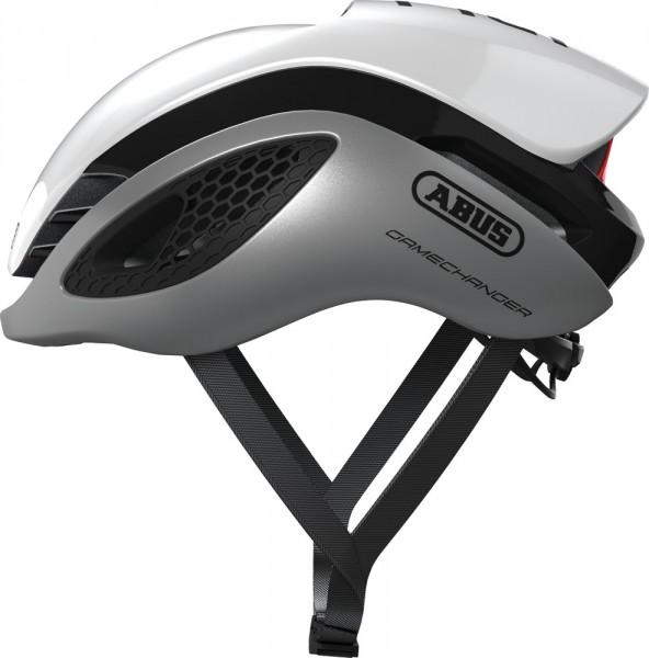 ABUS Fahrradhelm GameChanger silver white L
