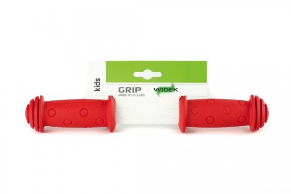 WIDEK Kindersicherheitsgriff Länge: 100/100 mm | rot | Rubber | Ausführung: lang/lang | SB-Verpackun