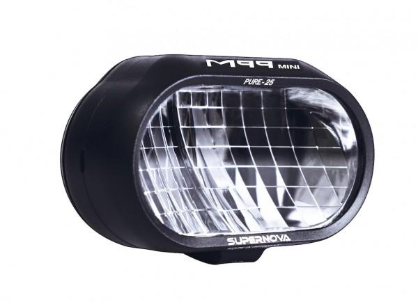 SUPERNOVA E-Bike LED Scheinwerfer M99 Mini Pure-25 schwarz