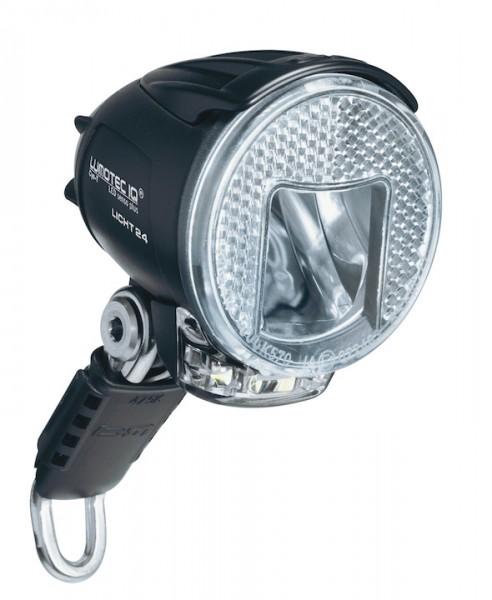 B&M Dynamo-Scheinwerfer Lumotec IQ Cyo RT Premium inkl. kurzem Metallhalter   Befestigung: Gabelkron