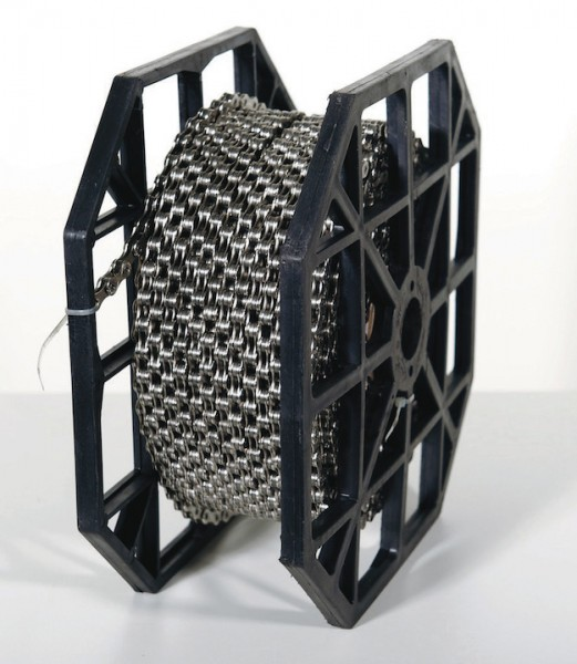 KMC Fahrrad Kette S1 Wide 50 Meter Rolle Kompatibilität: Nabenschaltung | Rolle | braun