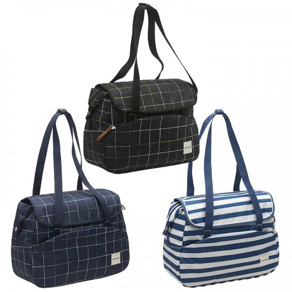 NEW LOOXS Einzeltasche Tosca Check Befestigung: Haken | schwarz