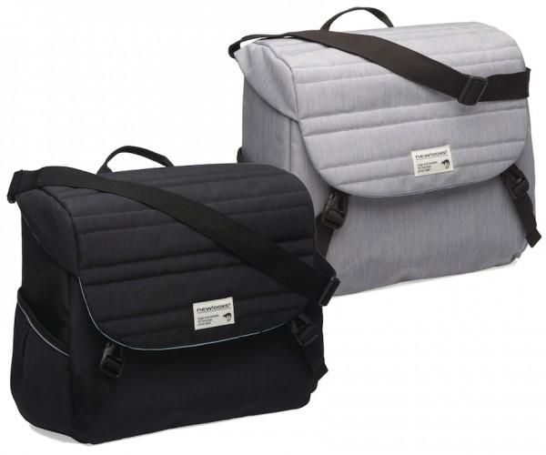 NEW LOOXS Gepäckträgertasche Mondi Joy Single gesteppt schwarz