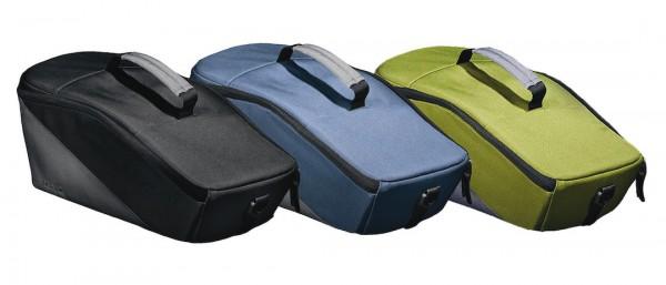 RACKTIME Gepäckträgertasche Talis trunk bag Befestigung: Snapit   berry blue / stone grey