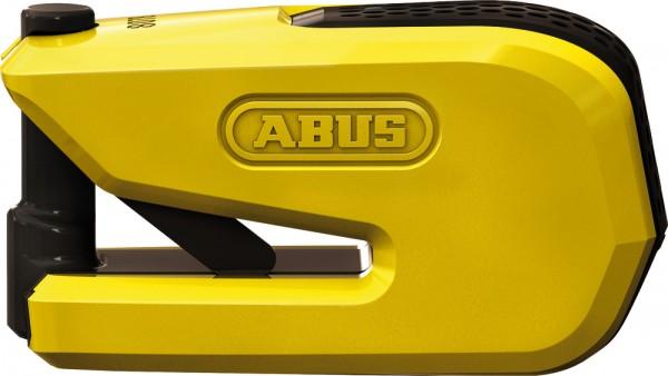 ABUS Fahrradschloss Alarm-Bremsscheibenschlosses GRANIT? Detecto SmartX 8078 yellow B/SB