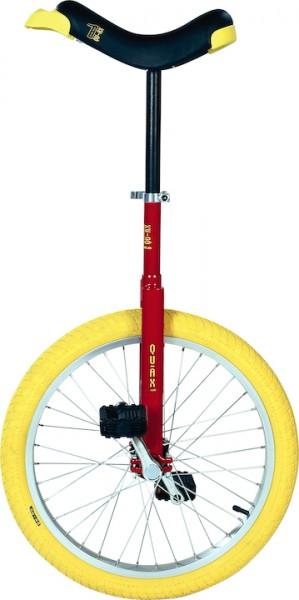 """QU-AX Einrad Luxus 20"""" rot   Durchmesser Sattelstütze: 25,4 mm"""