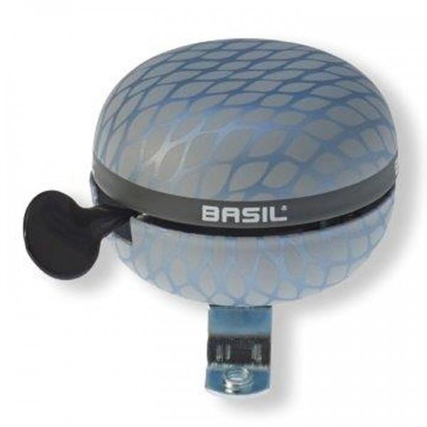 BASIL Ding-Dong Glocke Noir silber metallic   Durchmesser: 60 mm