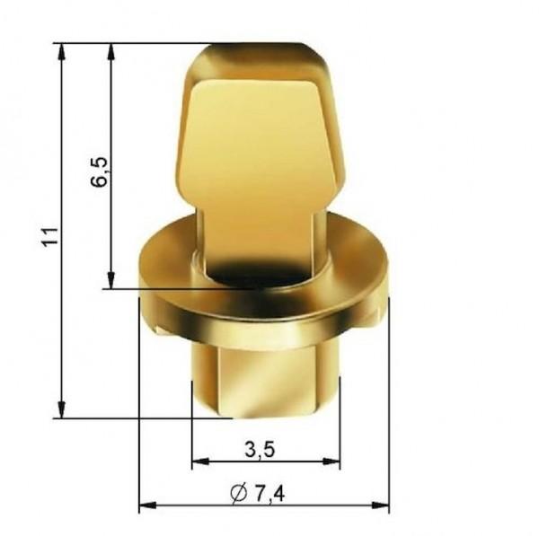 ALLIGATOR Tankstellenstecker Zubehör Für Tankstellenstecker (Artikelnr. 04685), Reifendruckfüller (A