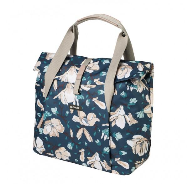 BASIL Shopper Magnolia Befestigung: Hook-On System | teal blue