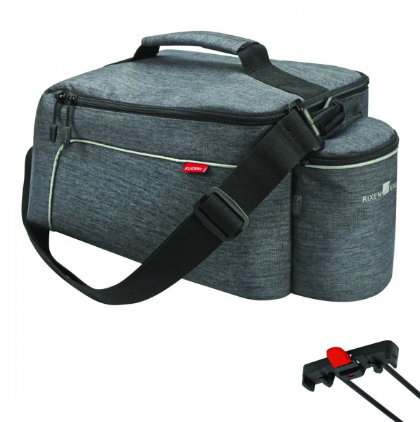 RIXEN & KAUL Gepäckträgertasche Rackpack Light grau