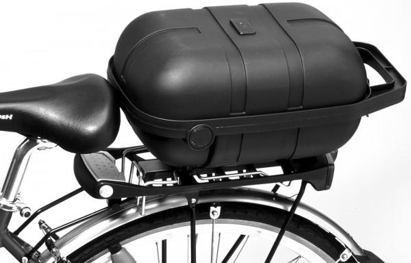 PLETSCHER Fahrradkoffer Befestigung: Easyfix   schwarz