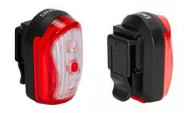 SMART LED Batterierücklicht inkl. Halter Halter für Sattelstütze/Sattelstrebe und Alkaline Batterien