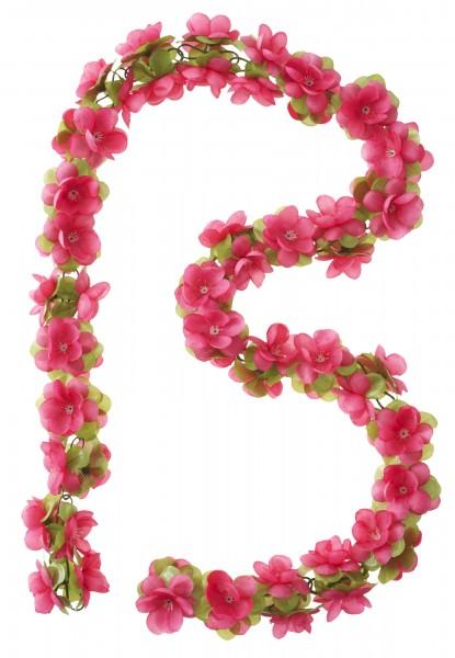 BASIL Blumengirlande pink