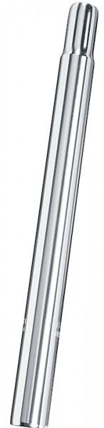 ERGOTEC Kerzensattelstütze Alu silber | Durchmesser: 25,0 mm | SB-Verpackung
