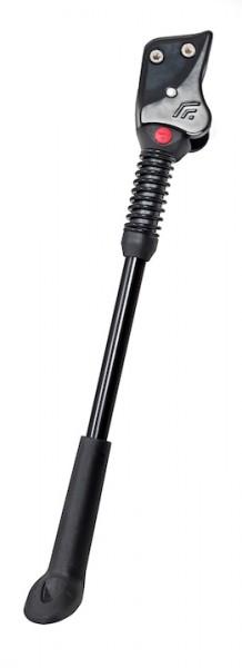 HEBIE Hinterbauständer FIX 18 Für 29 Zoll | Lochabstand: 18 mm | höhenverstellbar | schwarz
