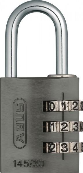 ABUS Fahrradschloss Zahlenschloss 145/30 titanium Lock-Tag