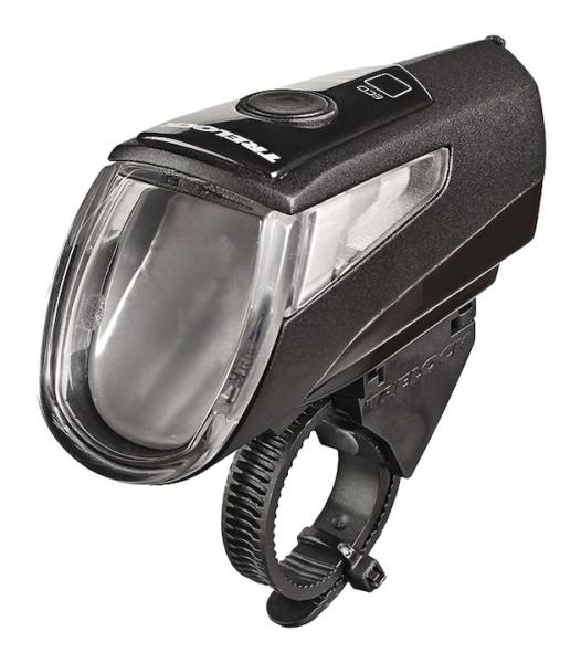TRELOCK LED Akkufrontleuchte 40 LUX I-Go Power inkl. Halter ZL 760 (22-32 mm)und USB-Ladekabel | Bef