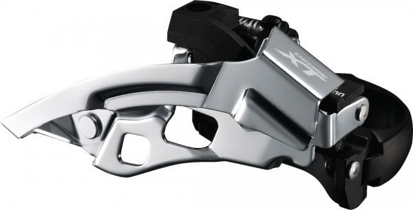 SHIMANO Umwerfer Deore XT FDT8000 silber | Top Swing Schelle 28,6/31,8/34,9 | Ausführung: 66-69 Grad