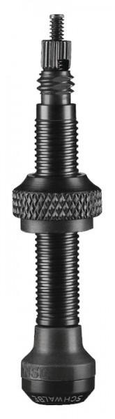 SCHWALBE Ventil-Set Tubeless schwarz | 40 mm