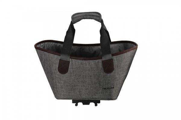 RACKTIME Gepäckträgertasche Agnetha Befestigung: Snapit | dust grey