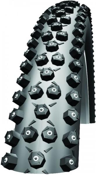 SCHWALBE Winterreifen Ice Spiker Pro HS 379 26 Zoll   ETRTO: 54-559   Draht   LiteSkin   schwarz