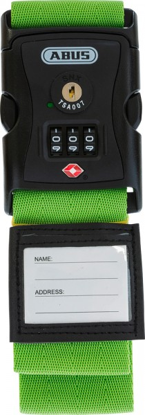 ABUS Fahrradhelm Kofferband 620TSA/192 grün Kofferband