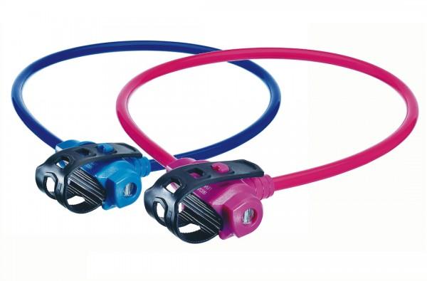 TRELOCK Kabelschloss KS 211 Fixxgo Kids pink | Länge: 750 mm | Durchmesser: 10 mm