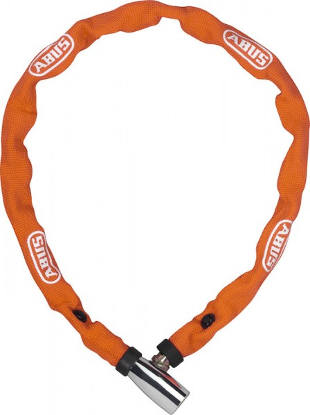 ABUS Kettenschloss 1500 web orange | Länge: 600 mm | Durchmesser: 4 mm