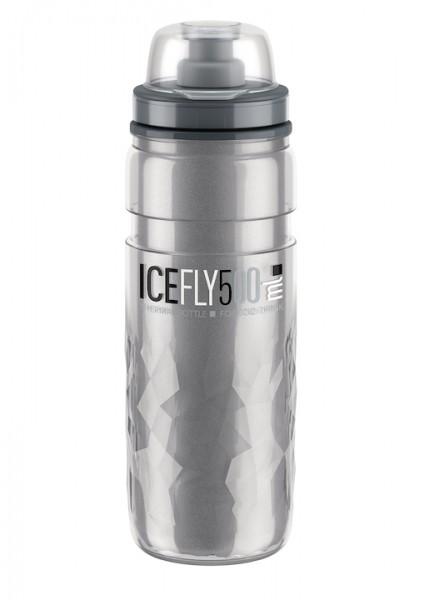 ELITE Thermo Trinkflasche Ice Fly Inhalt: 500 ml | smoke