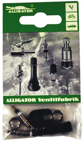 ALLIGATOR Ventil-Set Sclaverand SV | SB-Verpackung | schwarz / silber