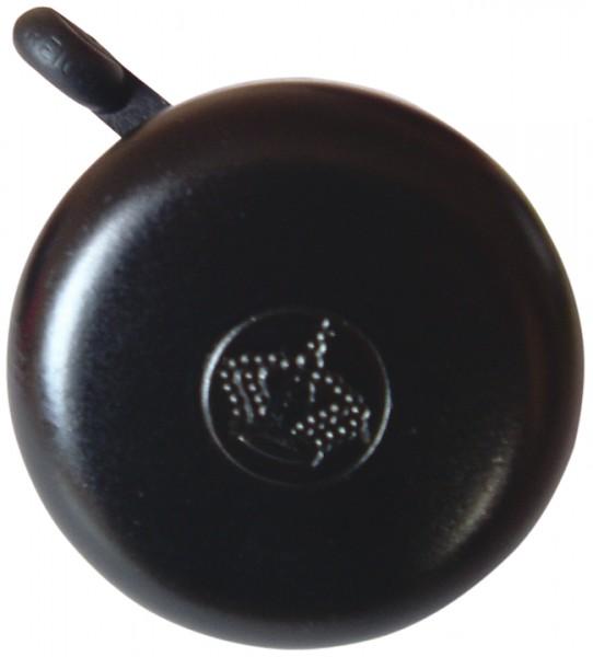 REICH Sicherheitsglocke schwarz | Motiv: Kronen-Prägung | Durchmesser: 55 mm