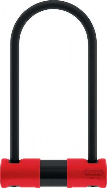 ABUS Bügelschloss 440 Alarm schwarz / rot | Höhe: 230 mm
