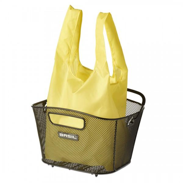 BASIL Keep Shopper für Körbe gelb