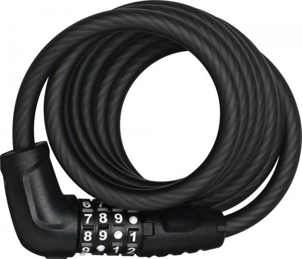 ABUS Fahrradschloss ZAHLENSCHLOSS Numero 5510C/180/10 black