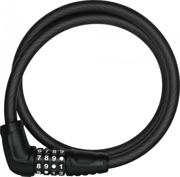ABUS Fahrradschloss Kabelschloss Numerino 5412C/85/12 black SCLL