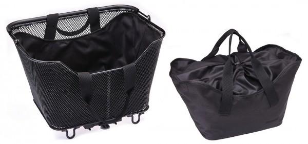 RACKTIME Einlegetasche LEA schwarz   Größe: Small