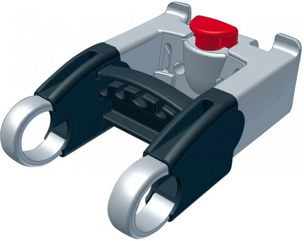 KLICKFIX Distanzset für Lenkeradapter grau
