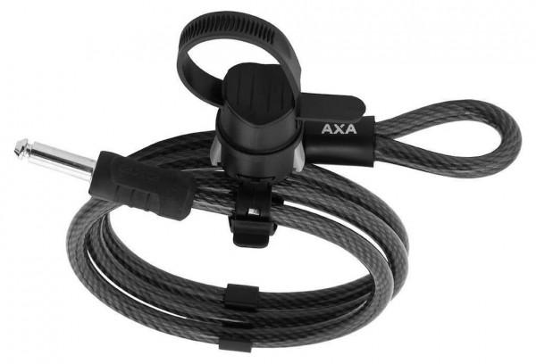 AXA Einsteckkabel RLE f. Defender u. Victory schwarz | Länge: 1500 mm | Durchmesser: 10 mm