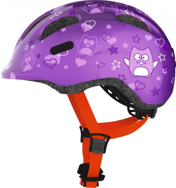 ABUS Fahrradhelm Smiley 2.0 purple star M Kopfumfang [cm] 50-55