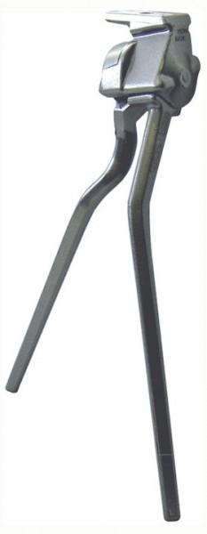 PLETSCHER Zweibeinständer ESGE Für 28 Zoll   Höhe (max): 32 cm   silber