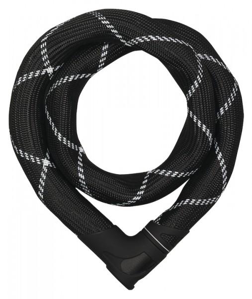 ABUS Kettenschloss Steel-O-Chain Iven 8210 schwarz   Länge: 850 mm   Durchmesser: 8 mm