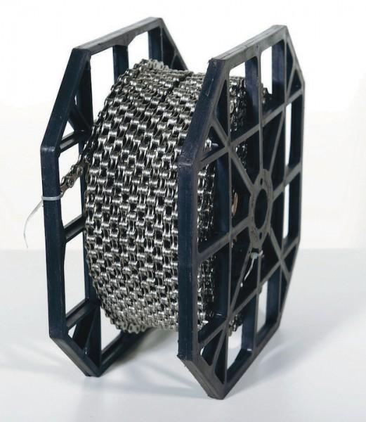 KMC Fahrrad Kette Z1 Wide 50 Meter Rolle Kompatibilität: Nabenschaltung   Rolle   braun
