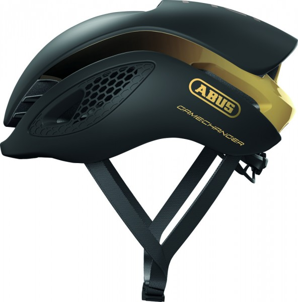 ABUS Fahrradhelm Fahrradhelm GameChanger black gold L