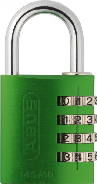 ABUS Fahrradschloss Zahlenschloss 145/40 grün B/DFNLI